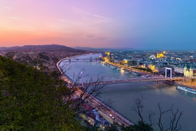 Day - Night in Budapest