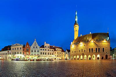 Town Hall Square Panorama