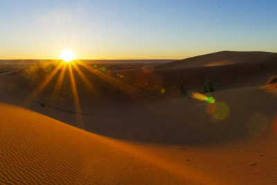 Sunrise in Morocco