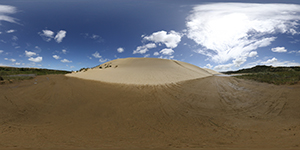 Cape Reinga Beaches - sand dunes
